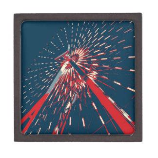 Patriotic Ferris Wheel Premium Trinket Boxes