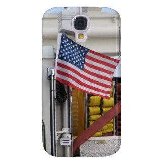 Patriotic Fire Truck Galaxy S4 Case