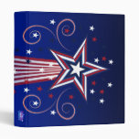 Patriotic fireworks binder