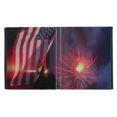 Patriotic Fireworks iPad Case
