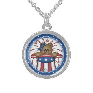 Patriotic Fireworks Necklace