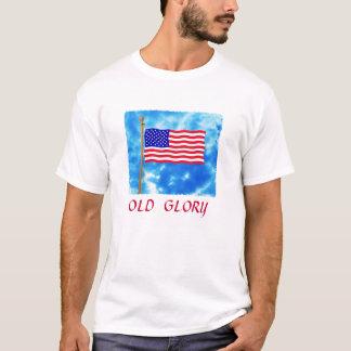 Patriotic Flag Basic T-Shirt