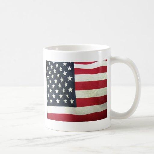 Patriotic Flag Classic White Coffee Mug