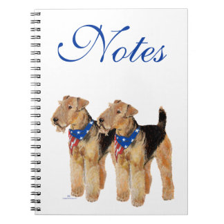 Patriotic Flag Duo Notebook