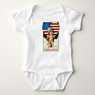 Patriotic Flag Image T-shirt