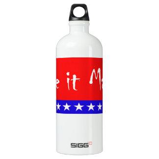 """Patriotic Flag """"Make it Matter"""" Banner SIGG Traveler 1.0L Water Bottle"""