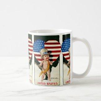 Patriotic Flag Mug