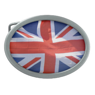 Patriotic Flag of Britain, Union Jack, Union Flag Belt Buckle