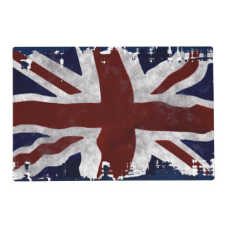 Patriotic Flag of Britain, Union Jack, Union Flag Placemat