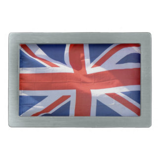 Patriotic Flag of Britain, Union Jack, Union Flag Rectangular Belt Buckle