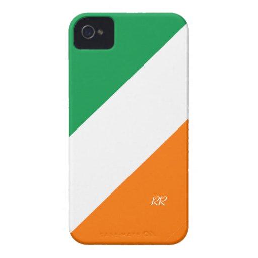Patriotic Flag of Ireland iPhone 4/4S Case