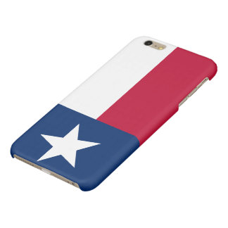 Patriotic Flag of Texas Glossy iPhone 6 Plus Case