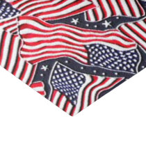 Patriotic flag pattern tissue paper