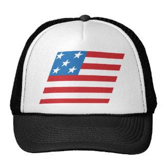 Patriotic Flag Trucker Hat