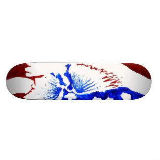 Patriotic Flying Skateboard
