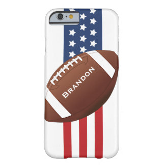 Patriotic Football Design iPhone 6 Plus Case