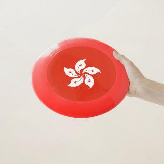 Patriotic Frisbee with Flag of Hong Kong