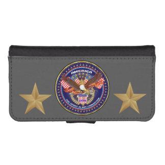 Patriotic Galaxy S4 iPhone 5/5s Wallet Case iPhone 5 Wallet Case