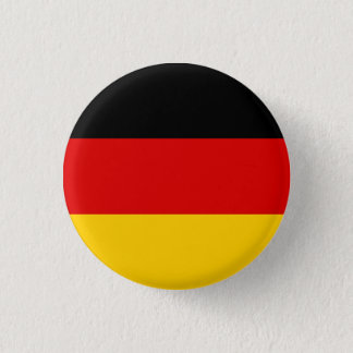 Patriotic German Flag Pinback Button