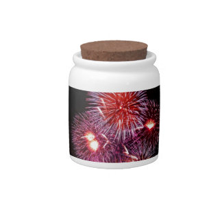 Patriotic Gifts Fireworks from the 4th of July Candy Jars