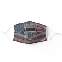 Patriotic Gifts, Truck Drivers Cloth Face Mask