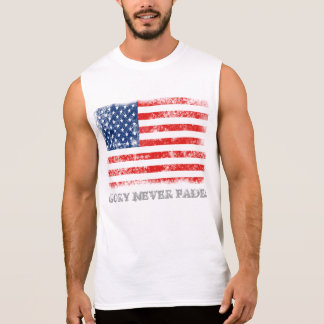 Patriotic Glory Never Fades Sleeveless Shirts