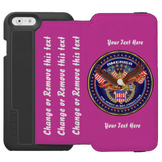 Patriotic  Go Direct to Customize iPhone 6/6s Wallet Case