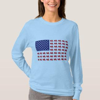 Patriotic Goldwing Motorcycle T-Shirt