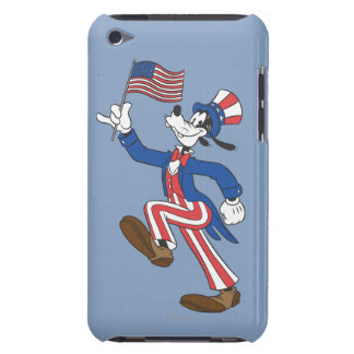Patriotic Goofy Barely There iPod Covers