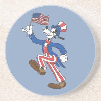 Patriotic Goofy Coaster