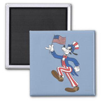 Patriotic Goofy Refrigerator Magnets