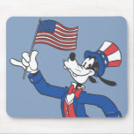 Patriotic Goofy Mouse Pad