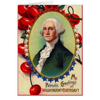 Patriotic Greetings Card