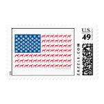 Patriotic Greyhound Stamps
