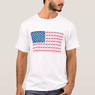 Patriotic Greyhound T-Shirt