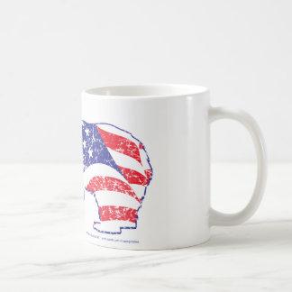 Patriotic-Grizzly-distress Coffee Mug