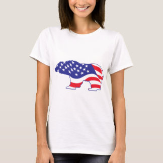 Patriotic-Grizzly T-Shirt