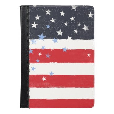 Patriotic Grunge Stars and Stripes iPad Air Case