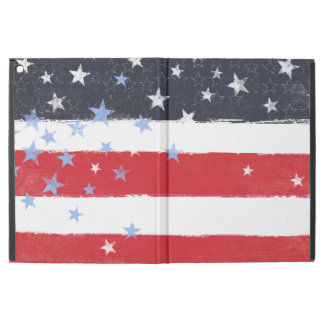 "Patriotic Grunge Stars and Stripes iPad Pro 12.9"" Case"