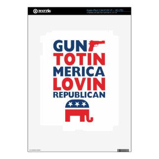 Patriotic - Gun Totin', 'Merica Lovin' Republican iPad 3 Skin