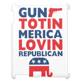 Patriotic - Gun Totin', 'Merica Lovin' Republican iPad Cases