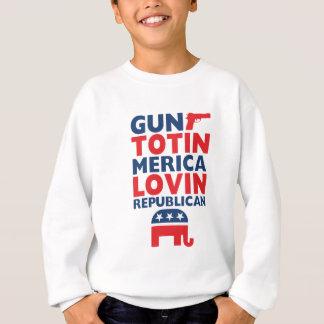 Patriotic - Gun Totin', 'Merica Lovin' Republican Sweatshirt
