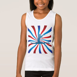 Patriotic Gymnastics Gifts Tank Top