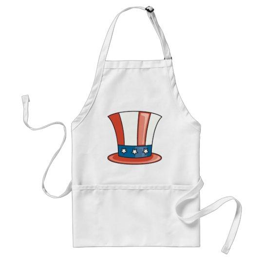 Patriotic Hat Adult Apron