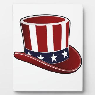 Patriotic Hat Plaque