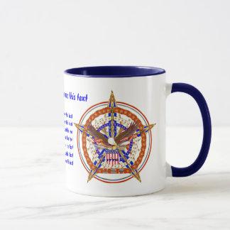 Patriotic Heart 2 Different Logos View Tips Below Mug