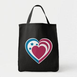 Patriotic Heart Bag