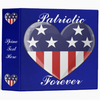 Patriotic Heart Binder (large)