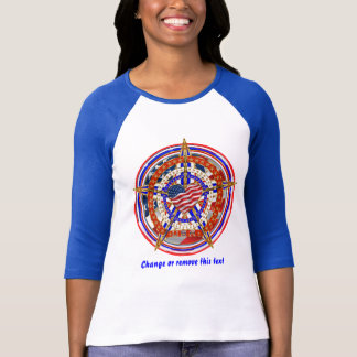 Patriotic Heart Election View About Design Below T-Shirt