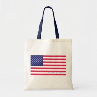 Patriotic Hebrew Tote Budget Tote Bag